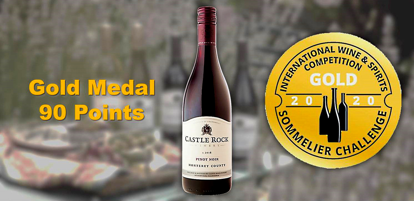 2018 Monterey County Pinot Noir – Gold Medal/90 Points