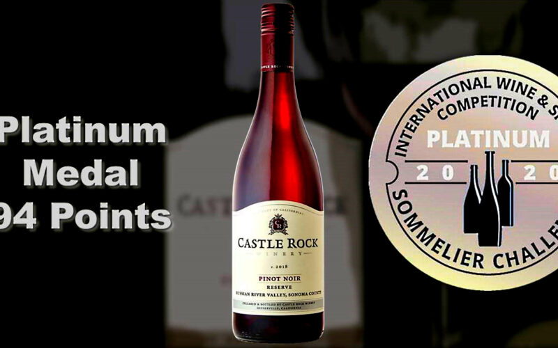 2018 Reserve Russian River Valley Pinot Noir – Platinum Medal/94 Points