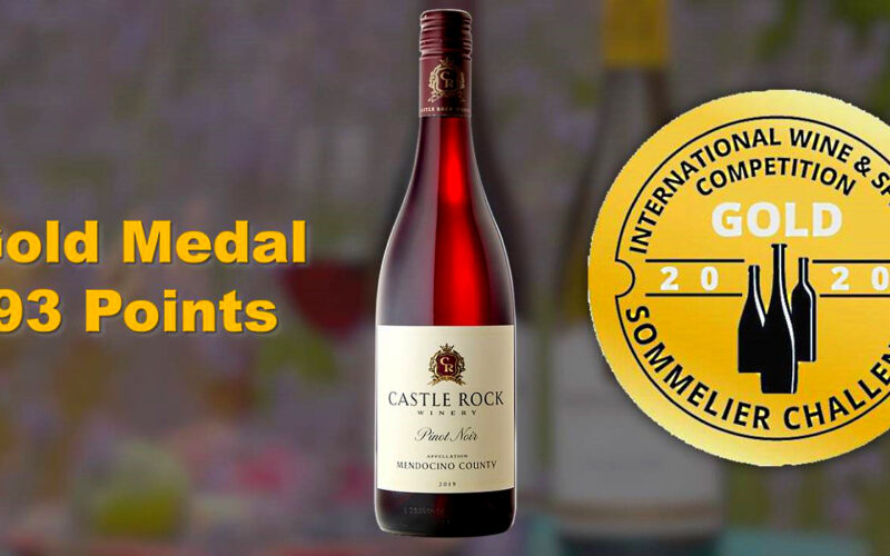 2019 Mendocino County Pinot Noir – Gold Medal/93 Points
