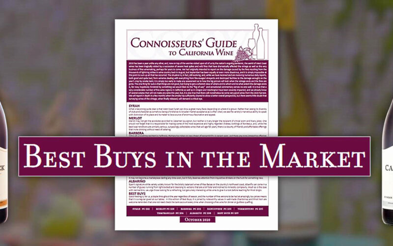 Connoisseurs' Guide – Best Buys in the Marketplace
