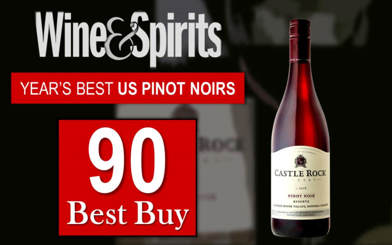 2018 Reserve Russian River Valley Pinot Noir – 90 Points/Best Buy/Year's Best US Pinot Noirs